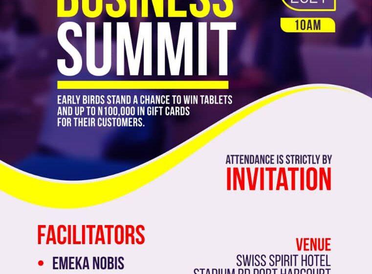 INVITATION TO THE PH BUSINESS SUMMIT